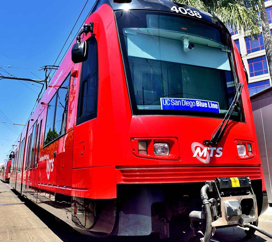 UC San Diego Blue Line trolley