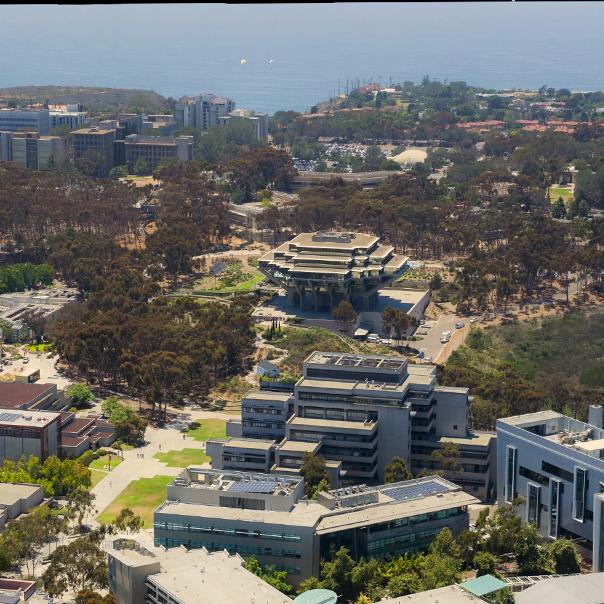 UCSD Aerial Shot