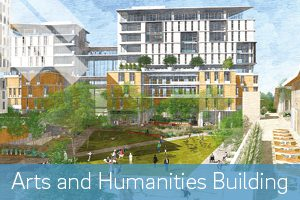 Arts humanities building sketch