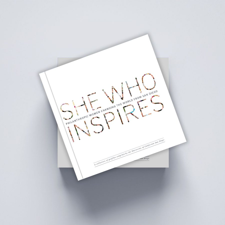 She Who Inspires book